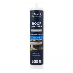 Bostik roof & gutter premium silicone sealant