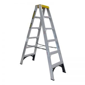 Gorilla double sided step ladders - industrial - 1.8m high