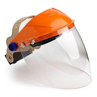 ProChoice browguard & visor - orange