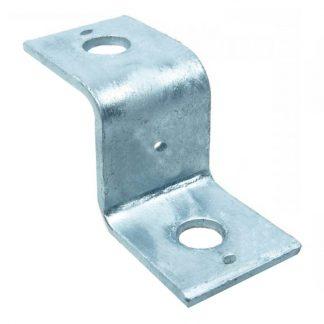 Duct brackets - Z shape - zinc