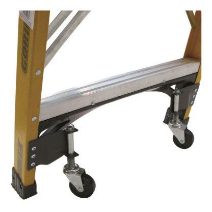 Gorilla platform ladder wheel kit - black