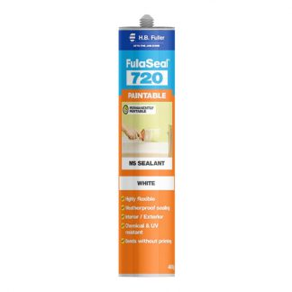 H.B. Fuller FulaSeal 720 paintable silicone sealant - cartridge