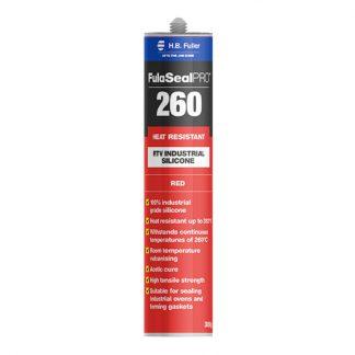 H.B. Fuller FulaSealPRO 260 heat resistant silicone sealant - cartridge