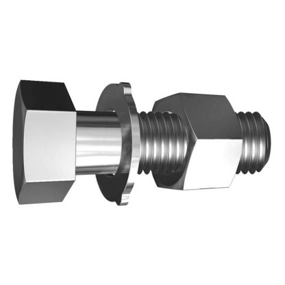 Hex head bolts - with nuts & washers - structural grade assembly - high tensile