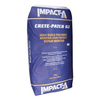 Impact-A crete-patch G2 - concrete repair mortar - 12kg bag
