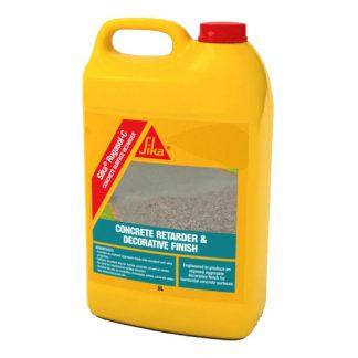 Sika Rugasol C concrete surface retarder - bottle