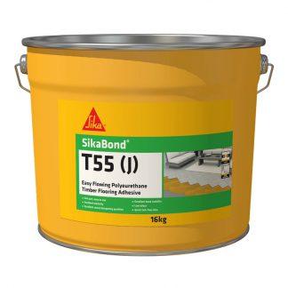 SikaBond T55 J easy flowing timber flooring adhesive - 16kg bucket