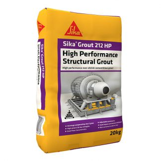 SikaGrout 212 HP high performance cementitious grout - 20kg bag