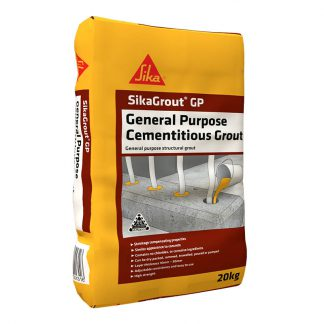 SikaGrout GP general purpose cementitious grout - 20kg bag