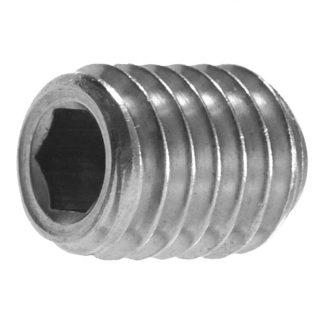 Socket grub screws - hex socket - cup point - box