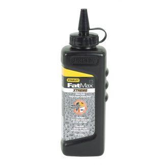 Stanley FatMax Xtreme permanent marking chalk - black - 226g bottle