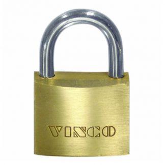 Vinco security padlocks - keyed alike - brass