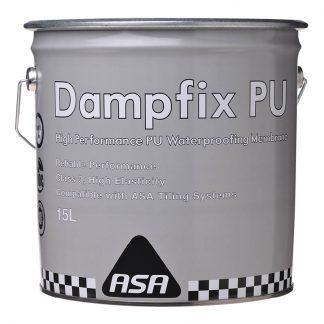 ASA Dampfix polyurethane waterproofing membrane - 15L - grey