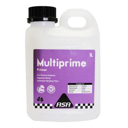 ASA Multiprime primer - for porous surfaces - 1L - pink