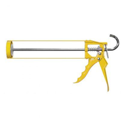 H.B. Fuller easy squeeze cartridge caulking gun - yellow