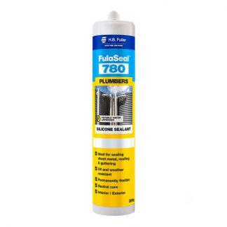 H.B. Fuller FulaSeal 780 plumbers silicone sealant - cartridge - aluminium