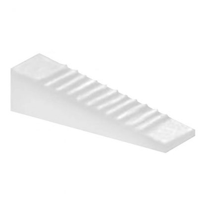 Invisiwedge- wedge packers for toilet installations - white