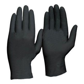 ProChoice disposable gloves - powder free nitrile - heavy duty - black