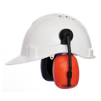 ProChoice Viper hard hat earmuffs - class 5 - black & orange