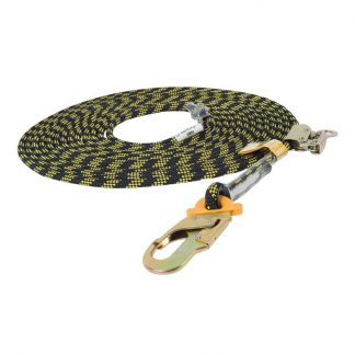 B-Safe vertical safety lines - rope & rope grab - black & yellow