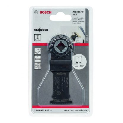 Bosch AIZ32EPC plunge-cutting multi-tool saw blades - for wood - 32mm - pack