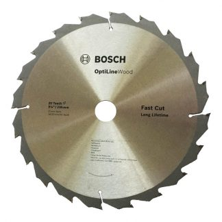 Bosch Optiline circular saw blades - for wood - 235mm
