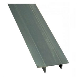Channel closure strips - grey - PVC