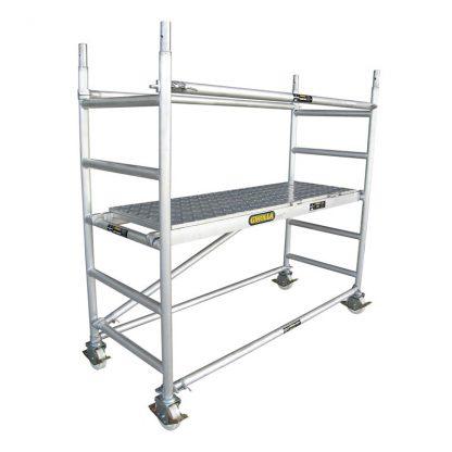 Gorilla Expanda Scaff scaffold base - core pack - aluminium