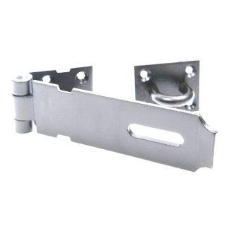 Hasp & staple - safety pattern - with screws - zinc