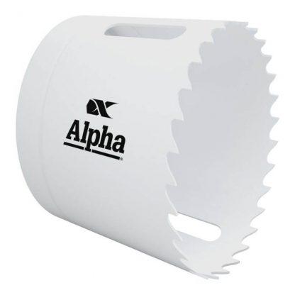 Alpha holesaws - bi-metal - white