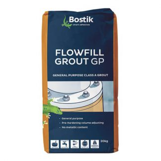 Bostik Flowfill GP grout - general purpose - 20kg - grey