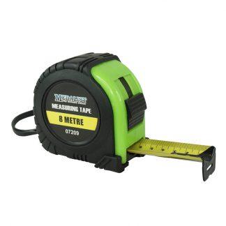Medalist contractors tape measures - black & fluoro
