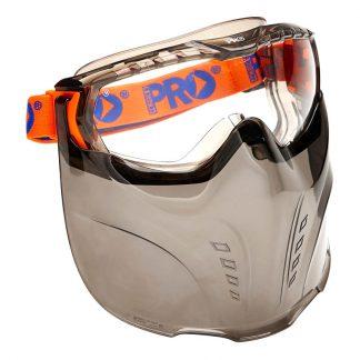ProChoice Vadar goggles & face shield - clear